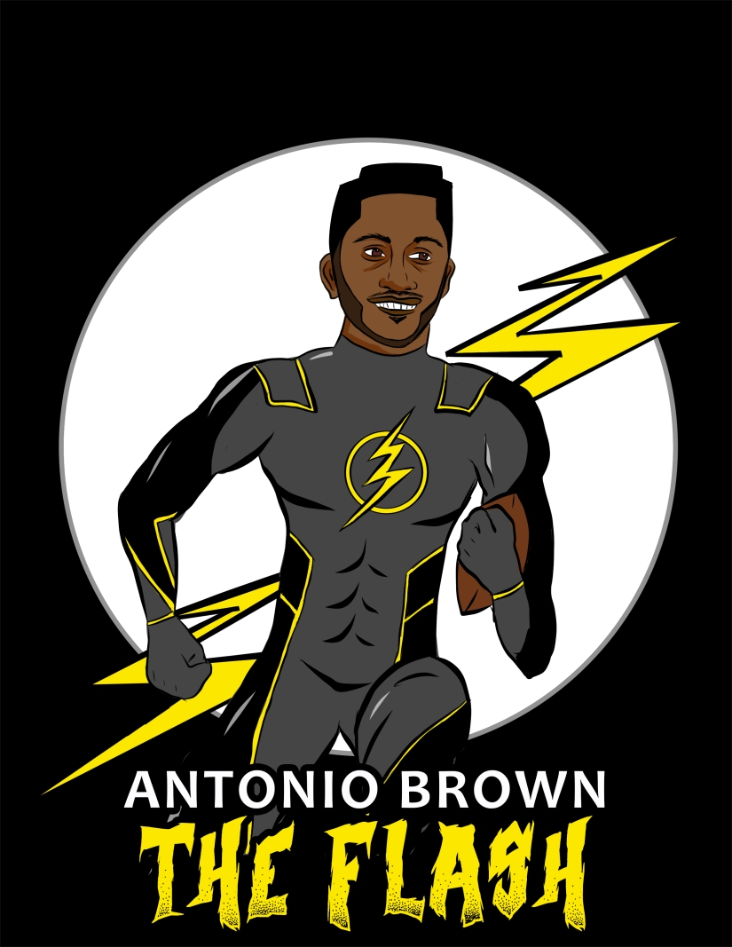 Antonio Brown Flash