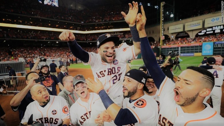 Astros players